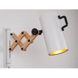 Biała lampa ścienna FLEX - ZUIVER