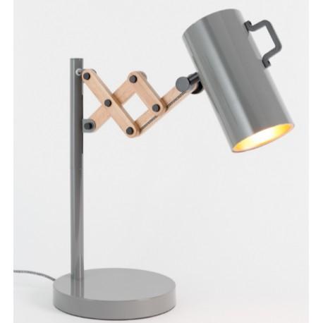 Szara lampa stołowa FLEX - ZUIVER