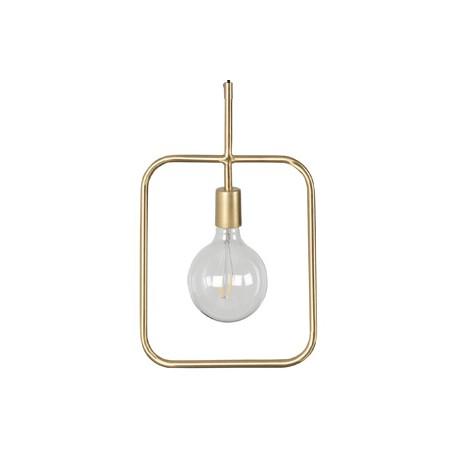 Nowoczesna lampa z mosiądzu