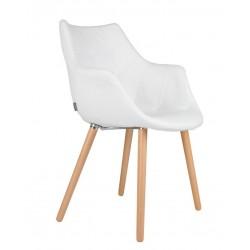 Biały fotel Twelve - Promocja