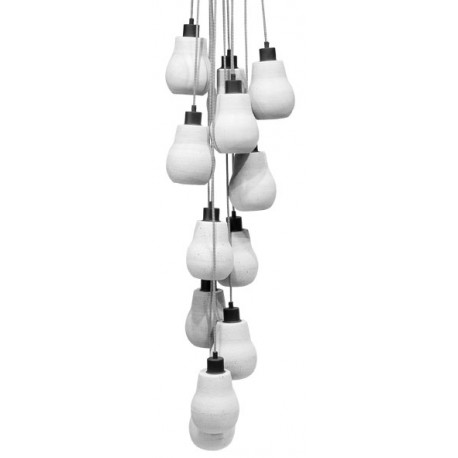 Nowoczesne lampa z betonowymi kloszami - CADIZ marki It's About RoMi