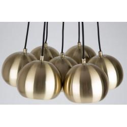 Złota lampa wisząca Multishine Brass - Zuiver