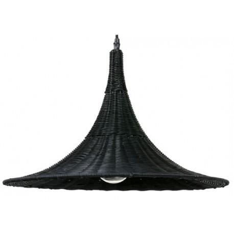 Wiklinowa lampa wisząca (czarna) marki Zuiver