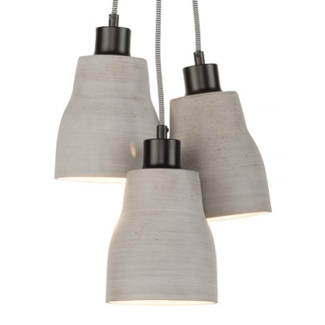 Betonowa lampa wisząca CADIZ (splot 3) - It's About RoMi