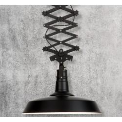 Industrialna lampa sufitowa Vancouver (czarna) - It's About RoMi