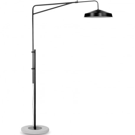 Czarna lampa podłogowa Brighton (matowa) - It's About RoMi
