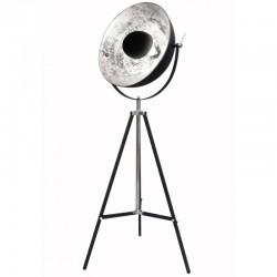 Ciekawa lampa podłogowa Antenne Silver