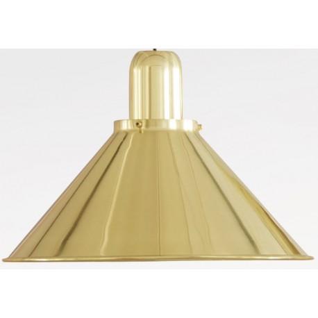 Złota lampa wisząca Reflex Stożek Gold