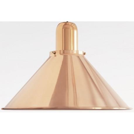 Miedziana lampa wisząca Reflex Stożek Cooper