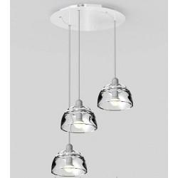 Lampa wisząca Avocado (trzy klosze)