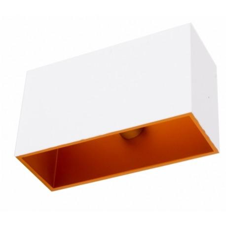 Nowoczesny kinkiet Concept Kwadrat – biały