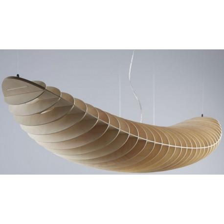 Drewniana lampa wisząca Zeppelin Ply Elastic
