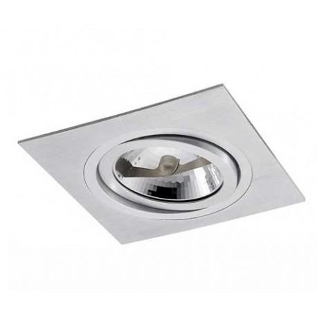 Oczko halogenowe PP 610/1 – aluminium szczotkowane