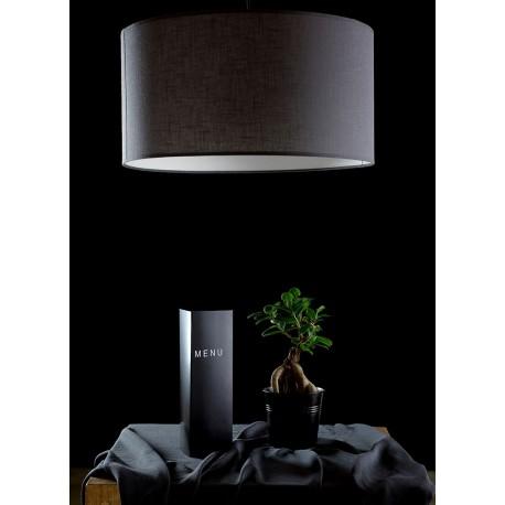 Abażurowa lampa wisząca - biała lub szara