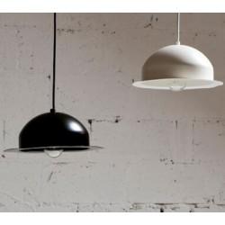 Stalowa lampa wisząca marki GIE EL mała – fioletowa