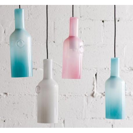 Szklana lampa wisząca GLASS BOTTLE