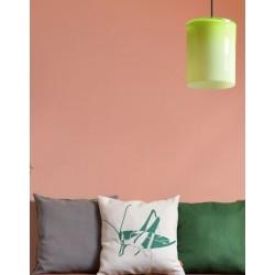 Szklana lampa wisząca o prostym kształcie marki GIE EL