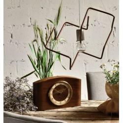 Miedziana lampa z rurek miedzianych LGH0431