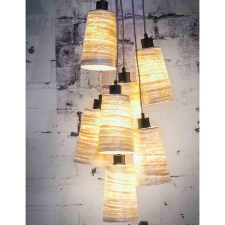 Splot siedmiu oryginalnych kloszy - lampa SAHARA marki It's About RoMi
