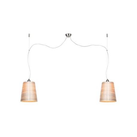 Nowoczesna lampa wisząca z dmowa abażurami (rozmiar M) - It's About RoMi