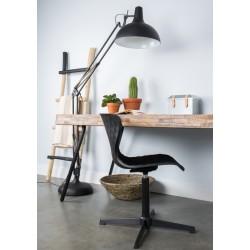 Czarna lampa podłogowa OFFICE BLACK