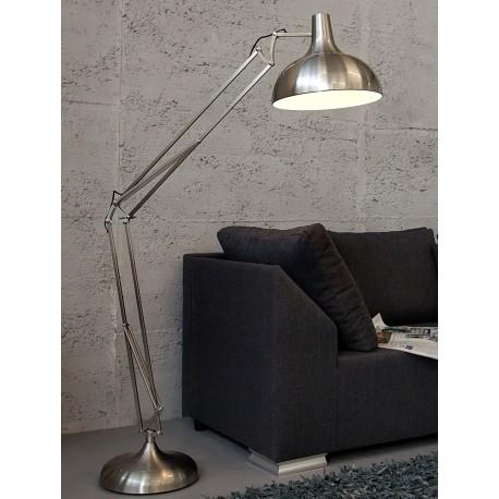 Satynowa lampa stojąca OFFICE SATIN