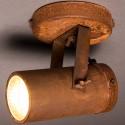 Rdzawy reflektor SCOPE-1 marki Dutchbone