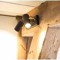 Podwójny reflektor SCOPE-2 (czarny) marki Dutchbone
