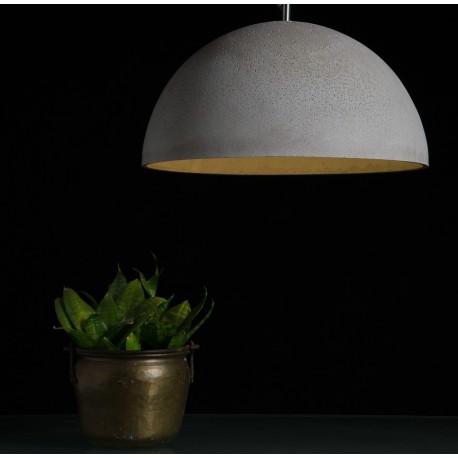 Lampa z betonu w rozmiarze XL - różne wersje kolorystyczne