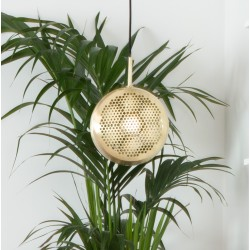 Mosiężna lampa GRINGO FLAT BRASS - Zuiver