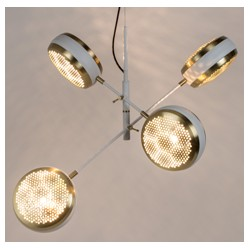 Nowoczesna lampa wisząca GRINGO MULTI biała - ZUIVER