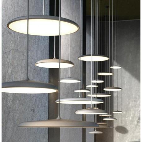 Nowoczesna lampa wisząca GREY ART 25