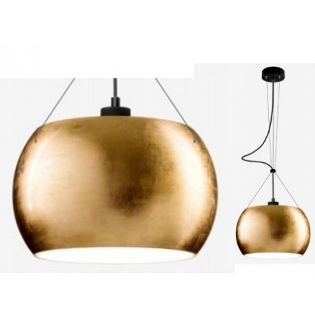 Lampa wisząca MoMo Sotto Luce - złota