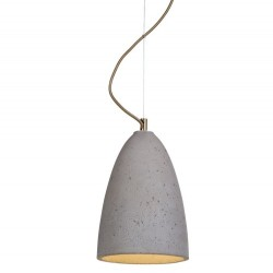 Prosta lampka betonowa FEBE M