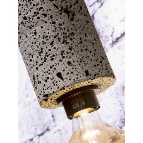 Niezwykła lampa ze skały wulkanicznej - Galapagos L