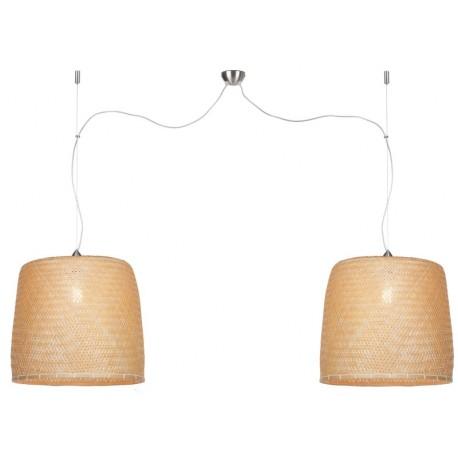 Modna lampa bambusowa Serengeti (podwójna) - It's About RoMi