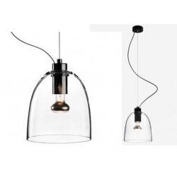 Transparentna lampa wisząca AWA – marki Sotto Luce