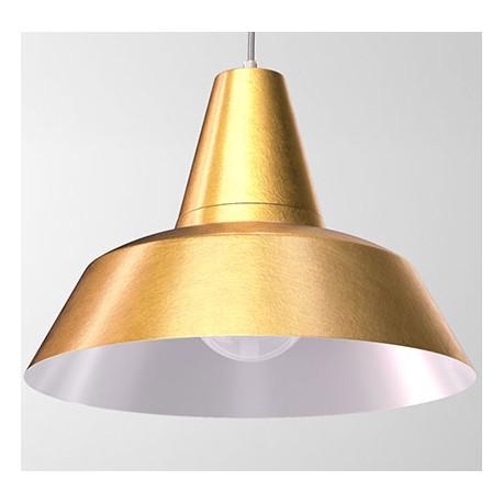 Złota lampa wisząca GELSOMINO - CLEONI