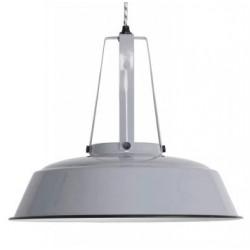 Szara lampa przemysłowa S - HK Living