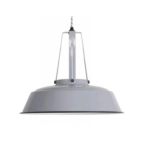 Szara lampa przemysłowa HK Living