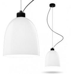 Biała lampa AWA – połysk