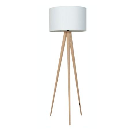 Drewniany tripod marki Zuiver - Wood white