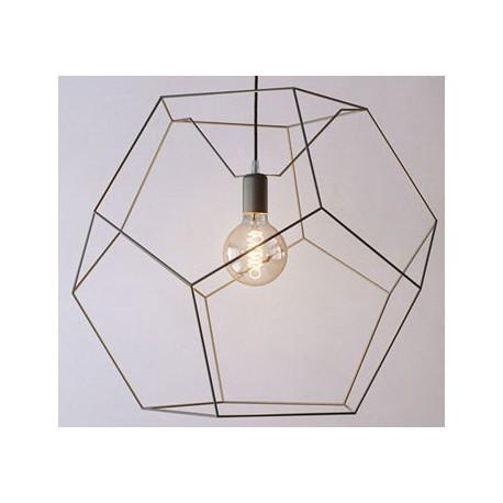 Ażurowa lampa metalowa NANGA CLEONI