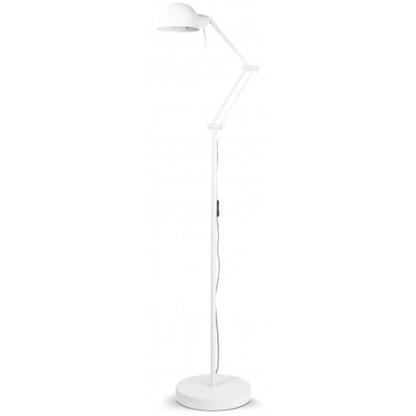Biała lampka podłogowa GLASGOW It's About RoMi