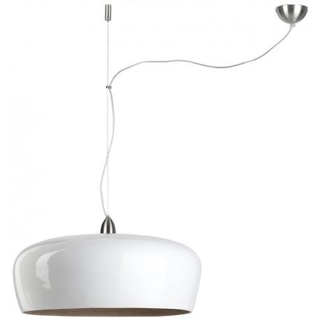 Biała lampa wisząca Hanoi