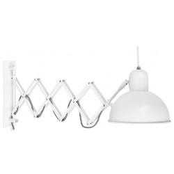 Biała lampa Aberdeen