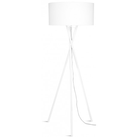 Biała lampa na trzech nogach - HAMPTON