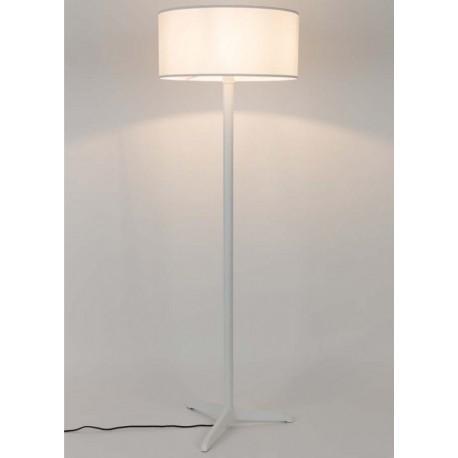 Biała lampa stojąca SHELBY - ZUIVER