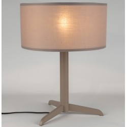 Beżowa lampa stołowa SHELBY - ZUIVER