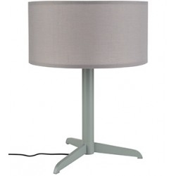 szara lampa stołowa SHELBY - ZUIVER